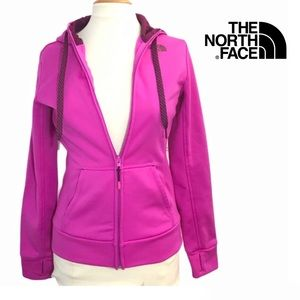 The North face zip up hoodie Sz S